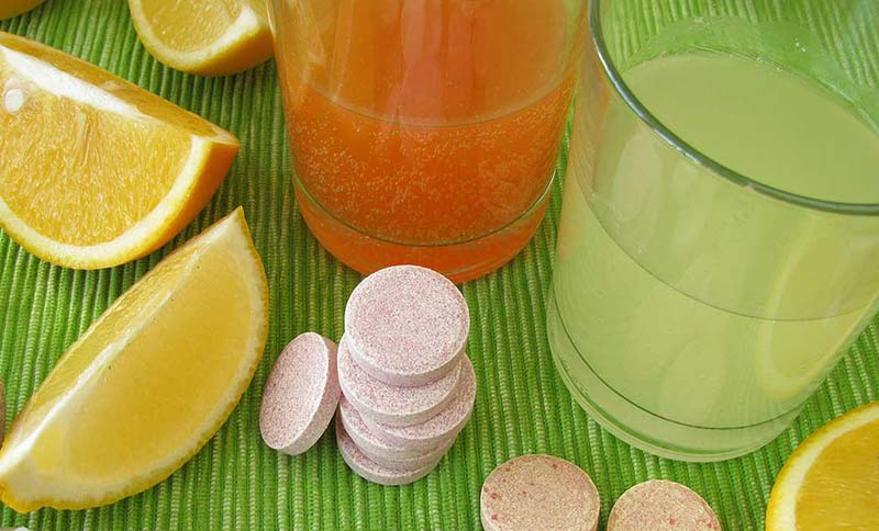 Vitamin C immune boosters