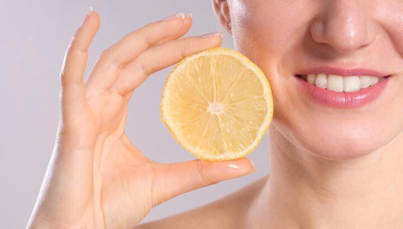 lemon and teeth whitening - smileperfectors